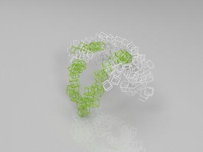 概念方框服装-3d打印模型