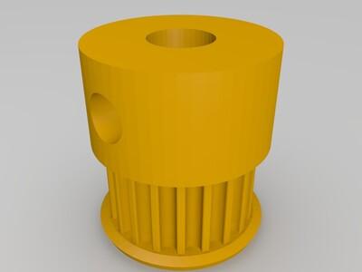 2GT齿轮-3d打印模型