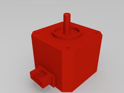 42电机-3d打印模型