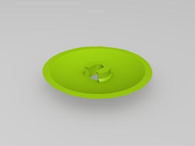 150mm月球灯-3d打印模型