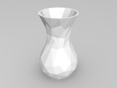 简单面花瓶-3d打印模型