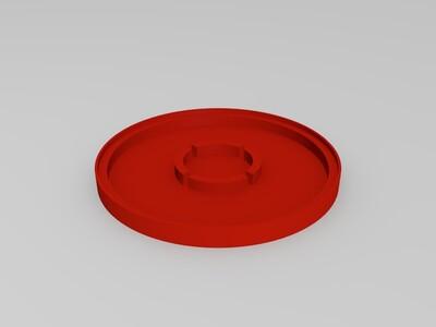曲线花盆合集-3d打印模型