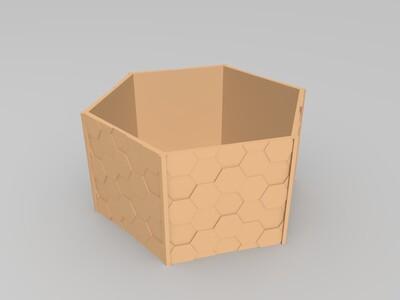 盆景花盆-3d打印模型