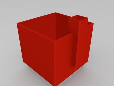 自浇水花盆-3d打印模型