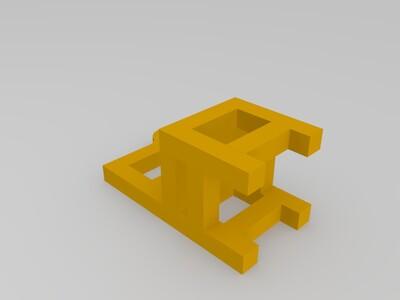 小椅子钥匙链-3d打印模型