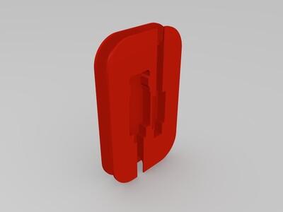 数据线整理盒2-3d打印模型