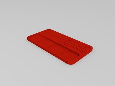 线材色板-2-3d打印模型