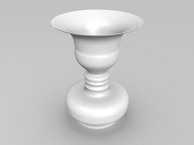 人脸花瓶-3d打印模型