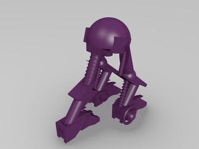 步行机-3d打印模型