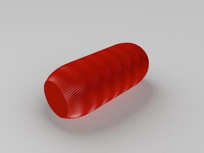 药丸花瓶-3d打印模型