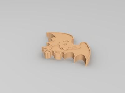吸血蝙蝠-3d打印模型