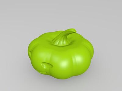 节日特辑(万圣节南瓜)-3d打印模型
