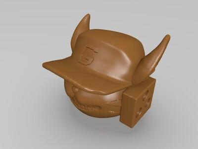 沈梦溪-爆破小猫-3d打印模型