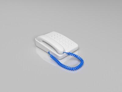 座机电话-3d打印模型