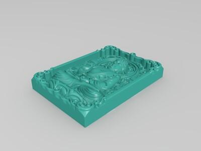 玉雕-佛祖-3d打印模型