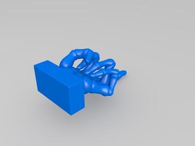 表达态度手势摆件-3d打印模型