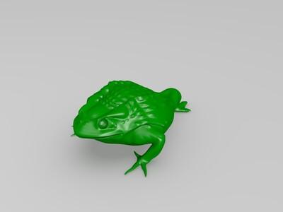 三足金蟾-3d打印模型
