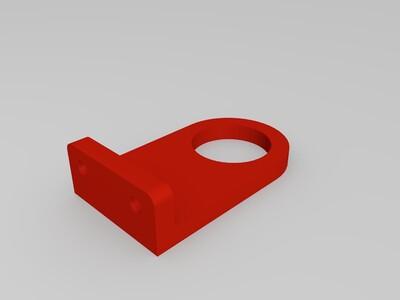 光电开关支架-3d打印模型