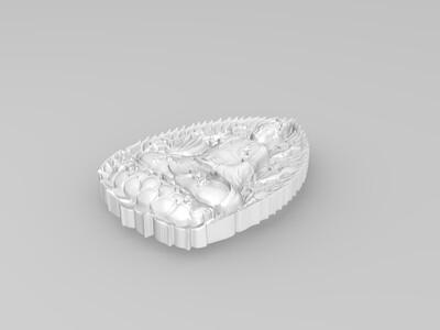 玉雕-观音菩萨-3d打印模型