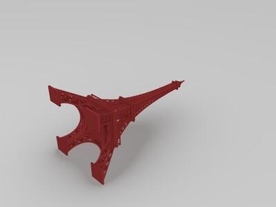 埃菲尔铁塔-3d打印模型