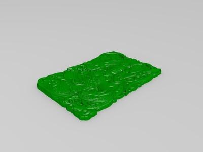 战神吕布-3d打印模型
