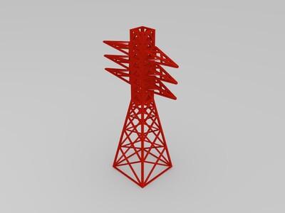 输电电塔模型-3d打印模型