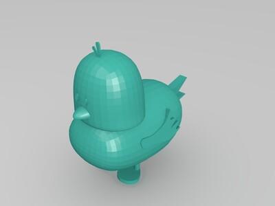 你们的小黄鸭-3d打印模型