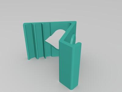 爱心手机支架-3d打印模型