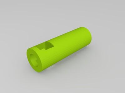 DIY用舵机制作电动螺丝刀-3d打印模型