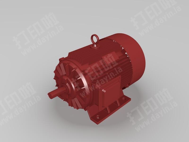 工业电机-3d打印模型