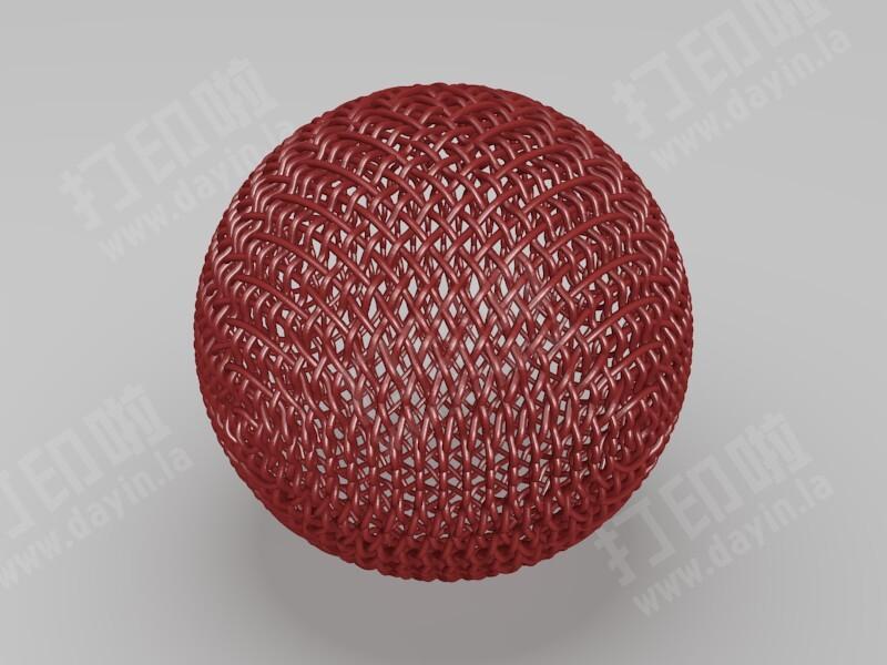 麦克风网罩-高精度-3d打印模型