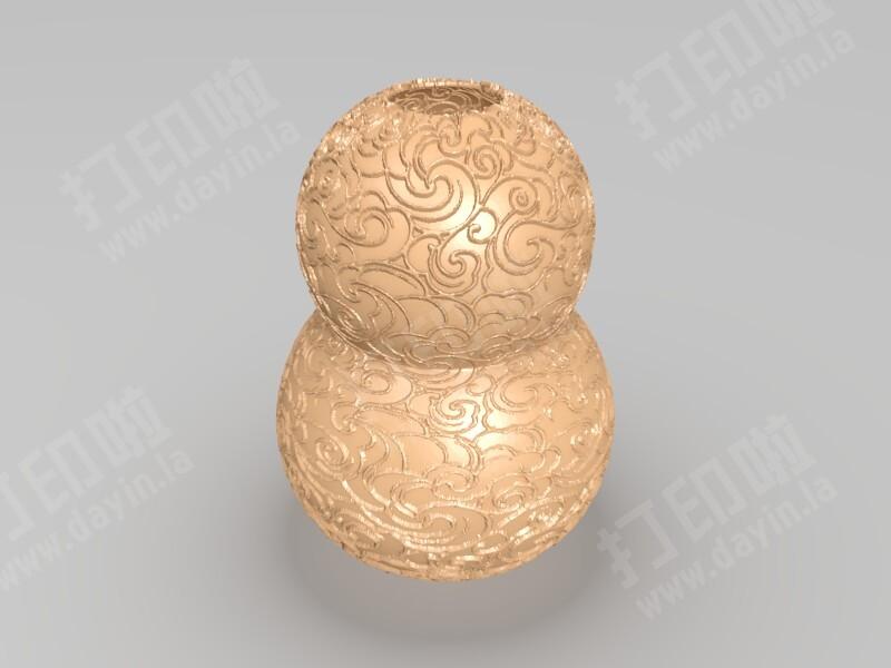雕花葫芦-3d打印模型
