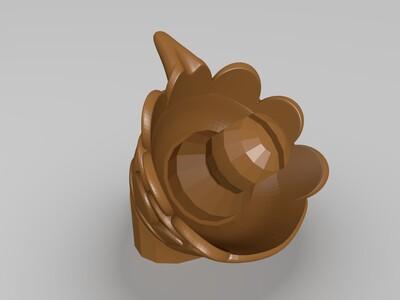 可拼装组合飞龙-3d打印模型