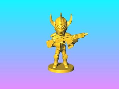 凹凸曼 3-3d打印模型