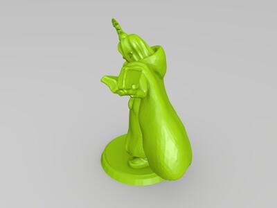 卡通人物多个-3d打印模型