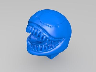 毒液卡通版模型,3种形态-3d打印模型