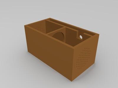 天猫精灵改电池外壳-3d打印模型