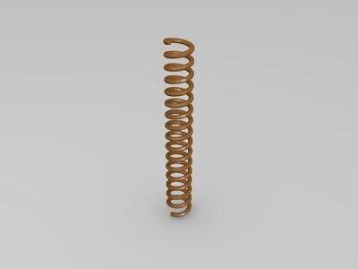 弹簧-3d打印模型