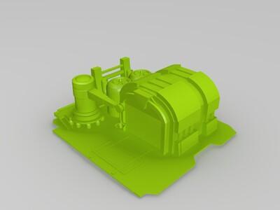 红警2盟军全部建筑模型-3d打印模型