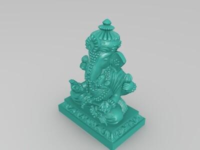 象头神-3d打印模型