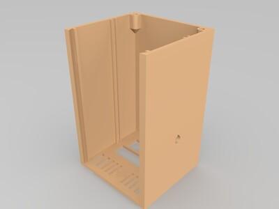简易机箱-3d打印模型