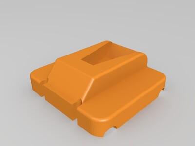 杂志栏支架-3d打印模型