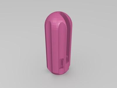 内六角手柄2mm专用-3d打印模型