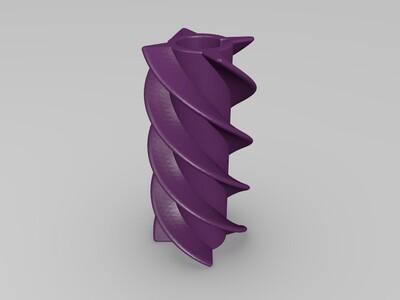便捷鱼食投喂器-3d打印模型