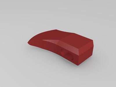 小斧头-3d打印模型
