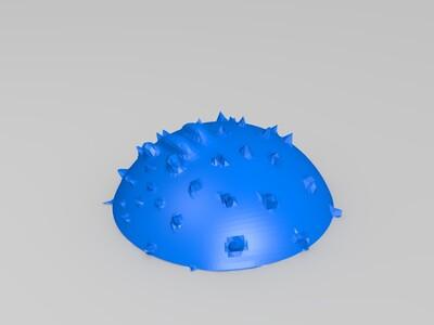 河豚-3d打印模型