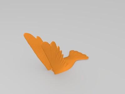 蜂鸟-3d打印模型