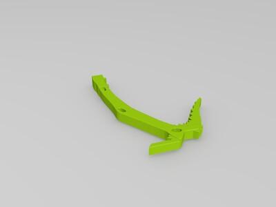 劳拉-3d打印模型
