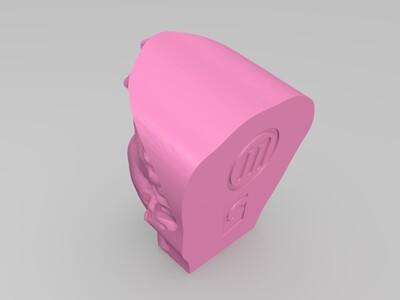 3d头像秀-3d打印模型