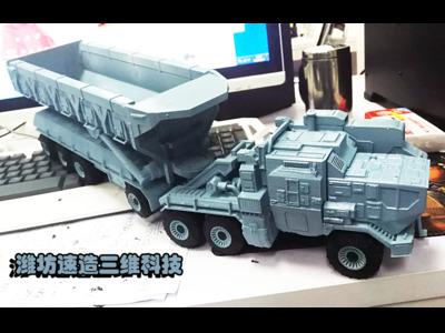 流浪地球矿车-3d打印模型